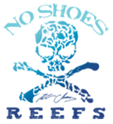 No Shoes Reefs Logo